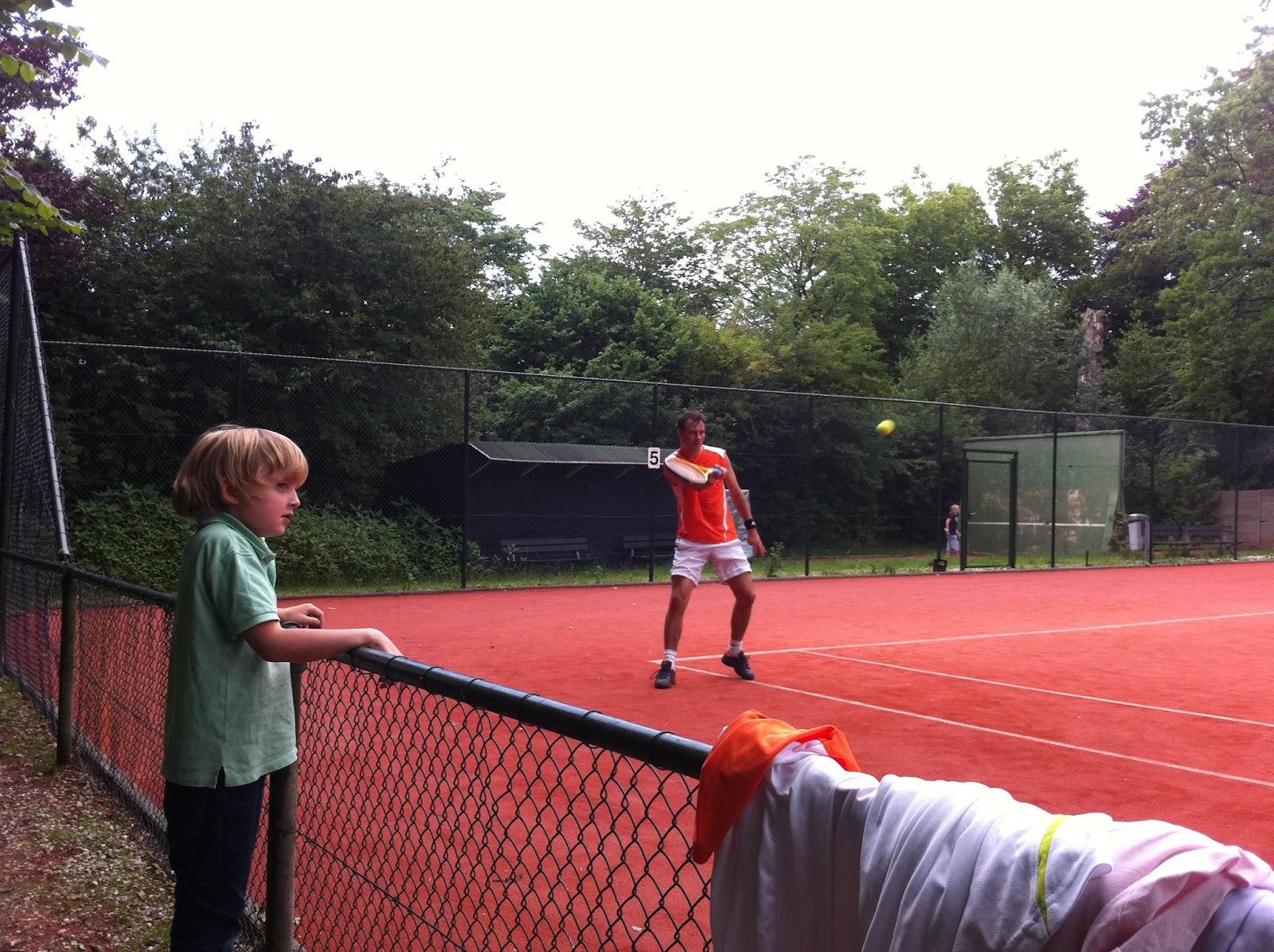 harde slag bij tennis