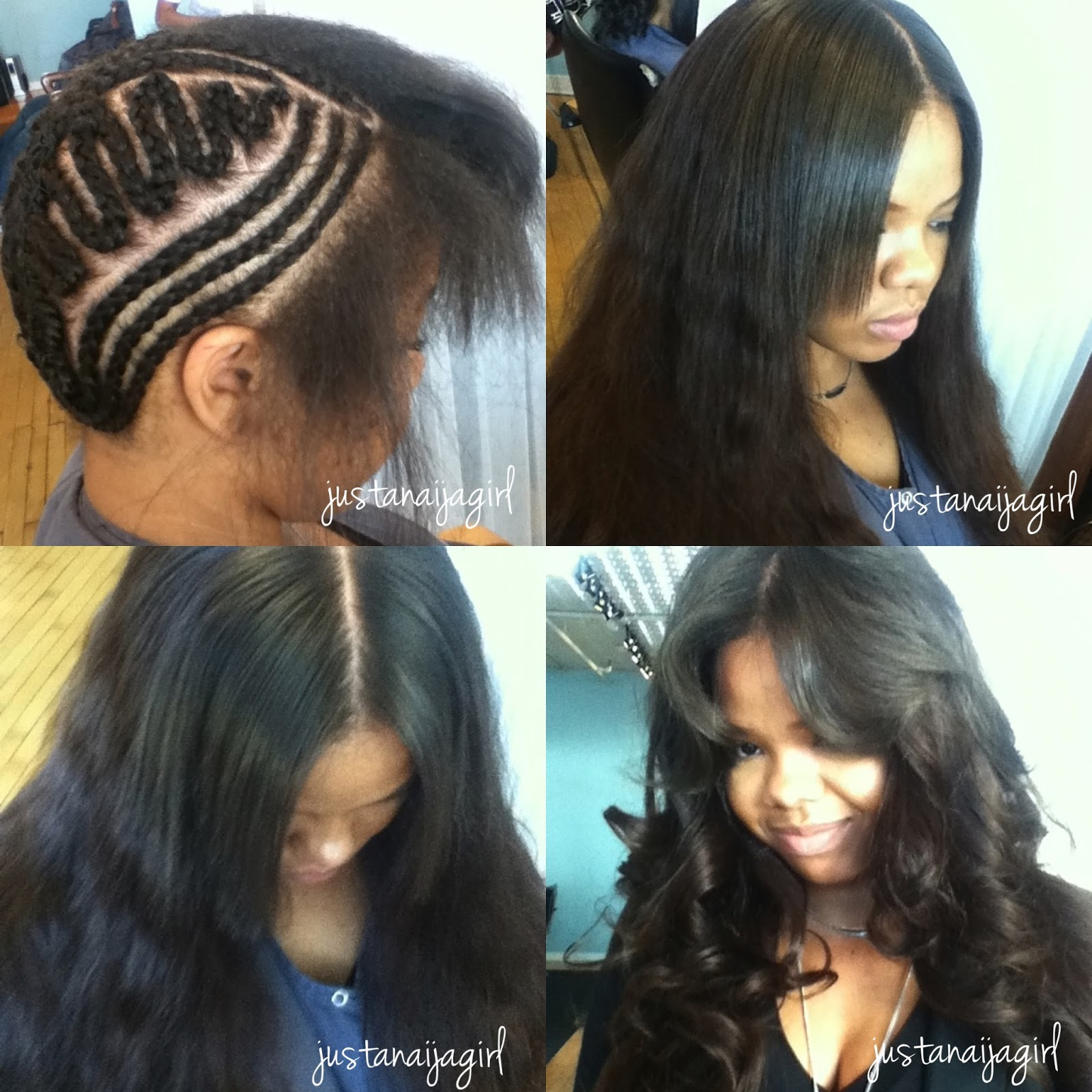 Crochet Hair That Looks Like A Sew In : Go Back > Gallery For > Side Part Weave Tumblr