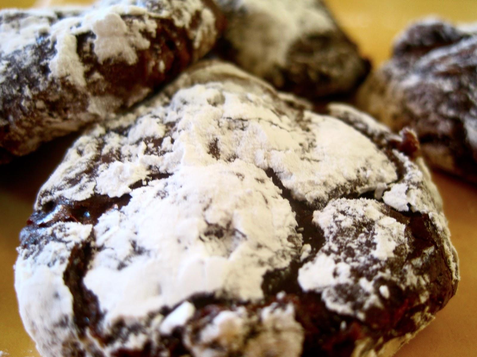 Rococoa Kitchen: Flourless Molten Lava Cake Cookies