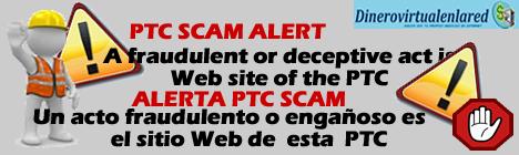 PTC Scam Alert