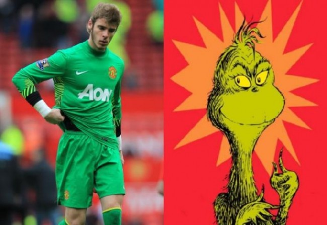 David De Gea x The Grinch