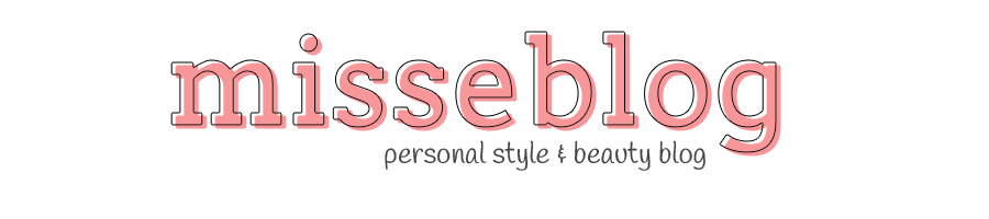 misseblog - personal beauty & fashion blog