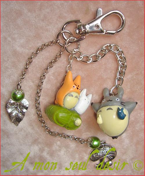 Bijou de sac Mon Voisin Totoro Hayao Miyazaki Studio Ghibli Manga Japon Japanimation Bag Charm