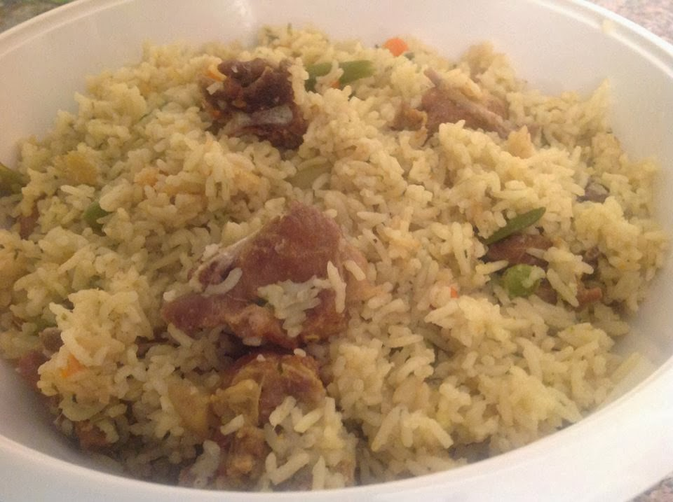 RECIPES FROM MY KITCHEN: MUTTON YAKHNI PULAO