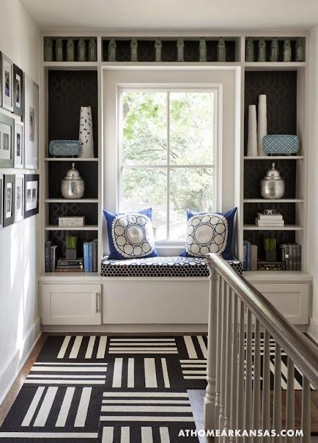 geometric black and white carpet tiles black walls