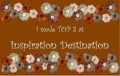 I Made TOP 3 at Inspiration Destination!