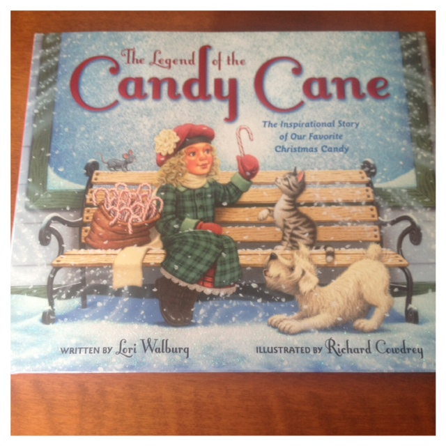 Wife and mommy the legend of the candy cane by lori walburg review