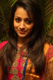 Trisha Spotted at Opening of FICCI Looks Beautiful
