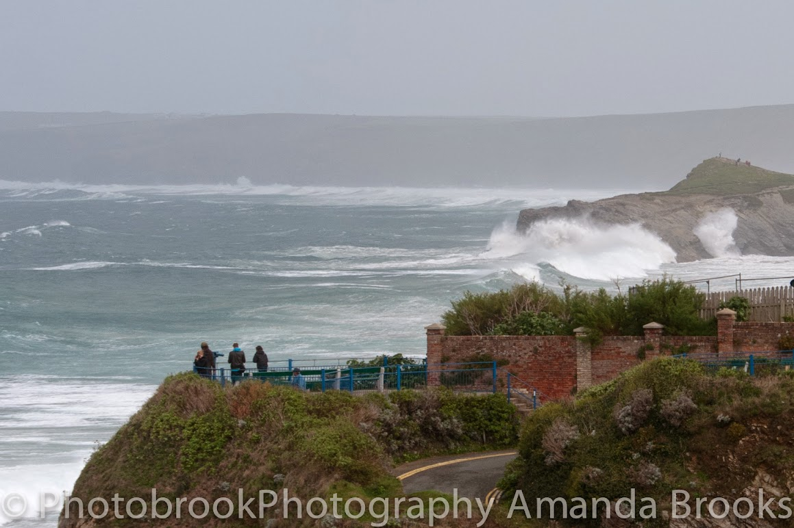 Cornwall feels the force of the winter storm