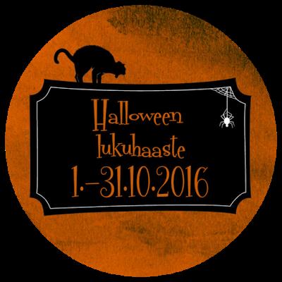 Halloween -lukuhaaste (1.-31.10.2016)
