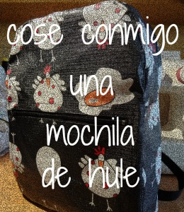 cosemos una mochila para los peques
