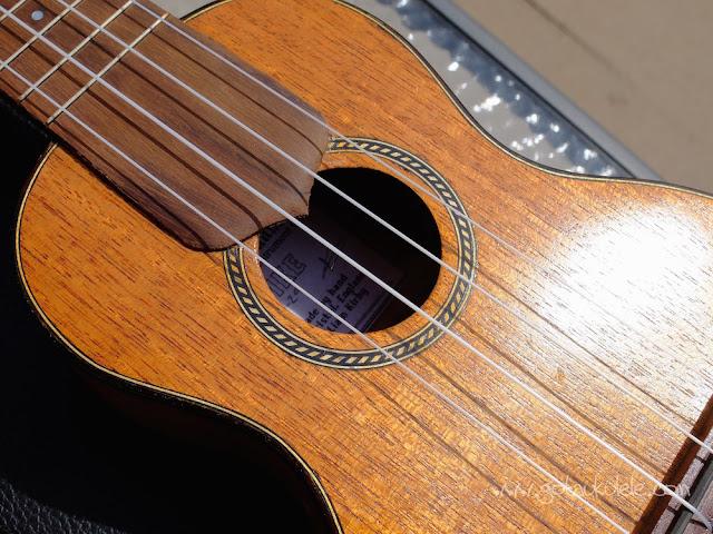 Wunderkammer Ike Soprano ukulele sound hole