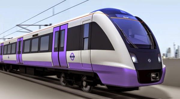 Tren Crossrail de TFL