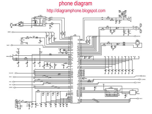 Nokia 3110c Schematic Diagram - Phone Diagram