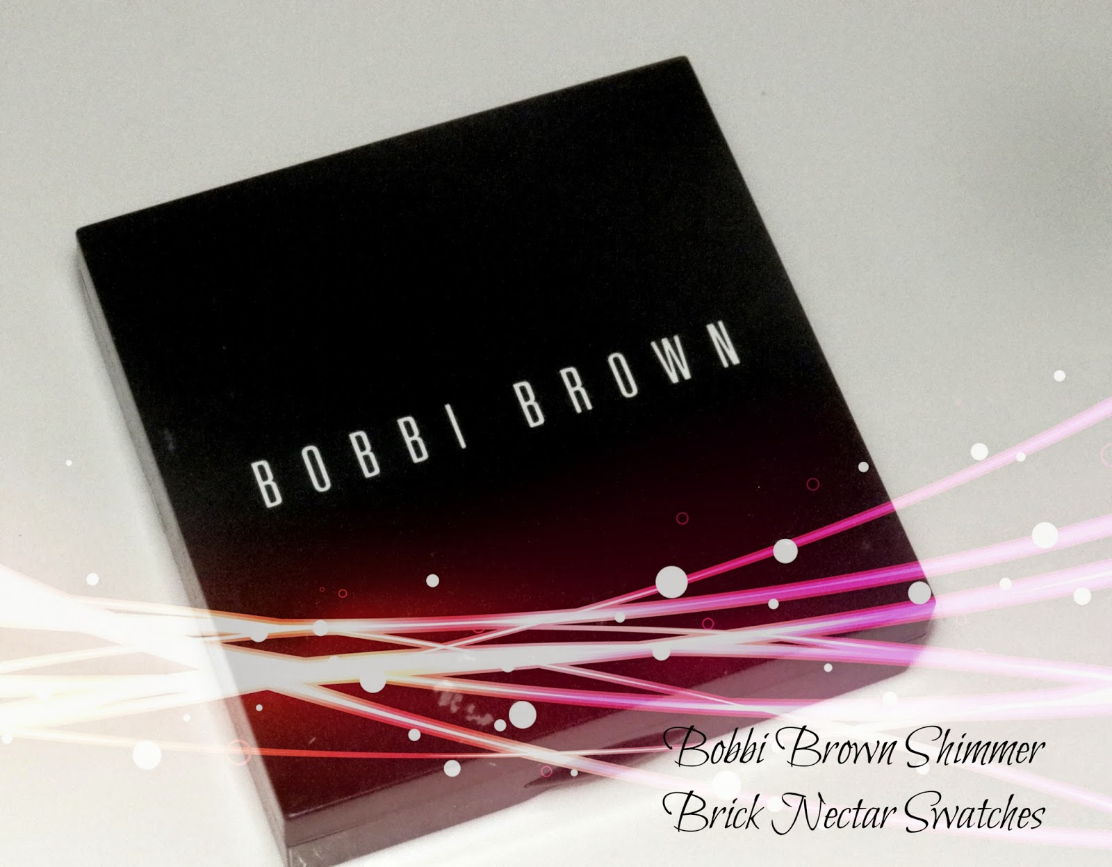 Bobbi Brown Shimmer Brick Nectar Swatches