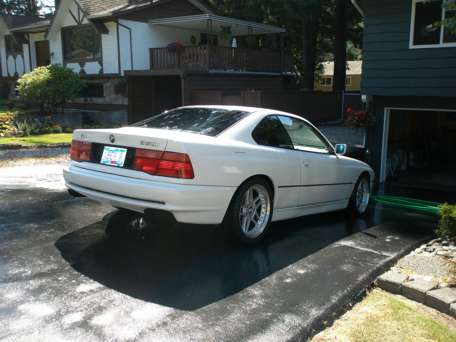 E31 1992 BMW 850i - Alpine White - 1st $12K takes it