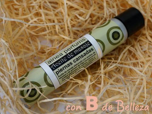 Aceite de masaje con romero