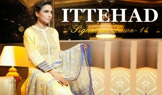 Ittehad Signature Summer Lawn Collection
