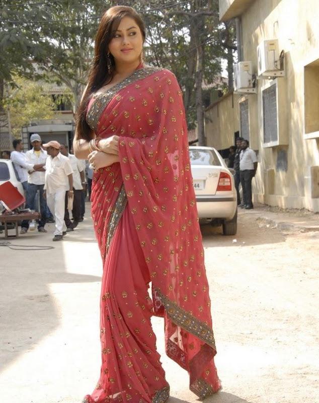 Actress Namitha Stills in Saree