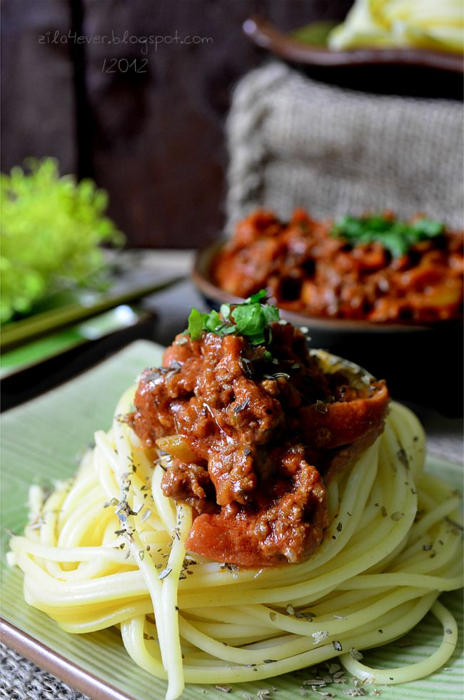 Love Touch Zila Forever Spaghetti Bolognese