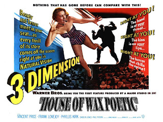 funny boring horror movies, House of Wax Poetic