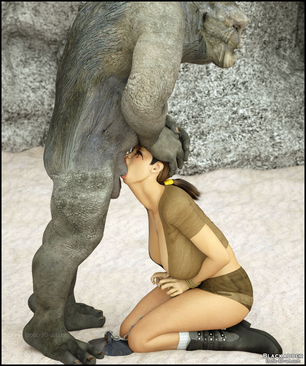 Erotic 3d art: lara croft porn monsters xxx tube