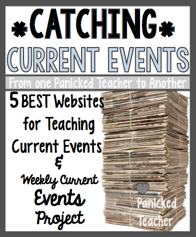 Current Events Lesson 5th Grade Current Events