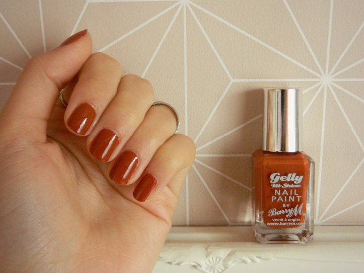 Love From Lisa Nails of the Week Barry M Paprika