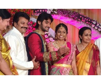 Hero Aadi Engagement Photos