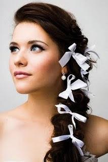 Peinados De Novia Largo - Peinados para una boda para pelo largo liso y rizado fotos