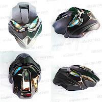 Cover Headlamp / Lampu Depan Custom Universal Predator