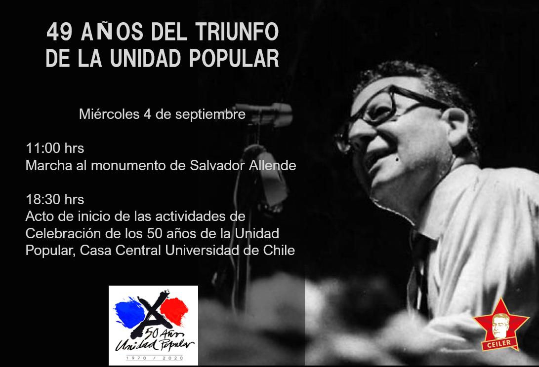49 AÑOS DEL TRIUNFO DE LA UNIDAD POPULAR