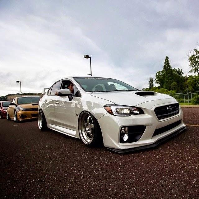 Subaru Crosstrek Sti Wheels >> Stance . Low . Life: Todd Durham Bagged 2015 Subaru STI