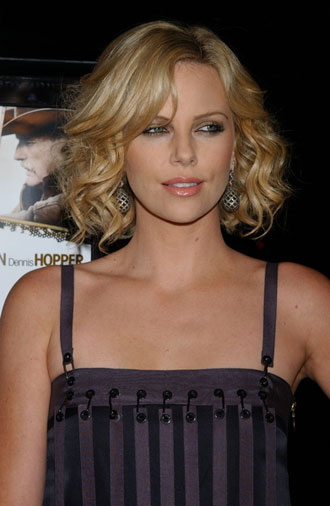 Charlize Theron Short Curly Hair