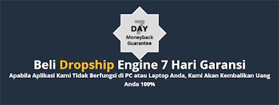 Garansi Dropship Engine