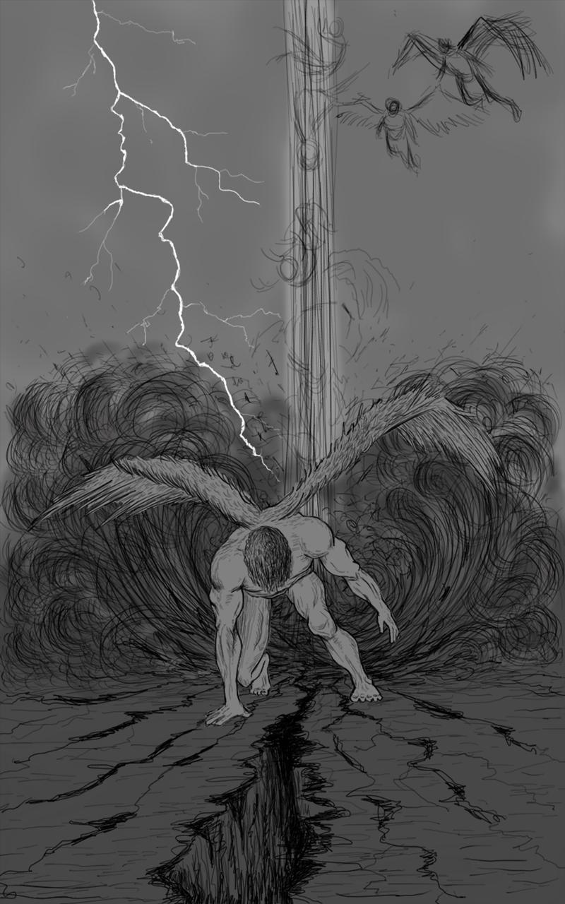 Concept of Fallen One by Lt Blak