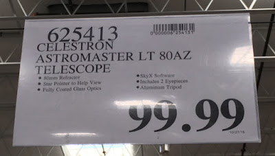 Deal for the Celestron Astromaster LT 80AZ Telescope at Costco