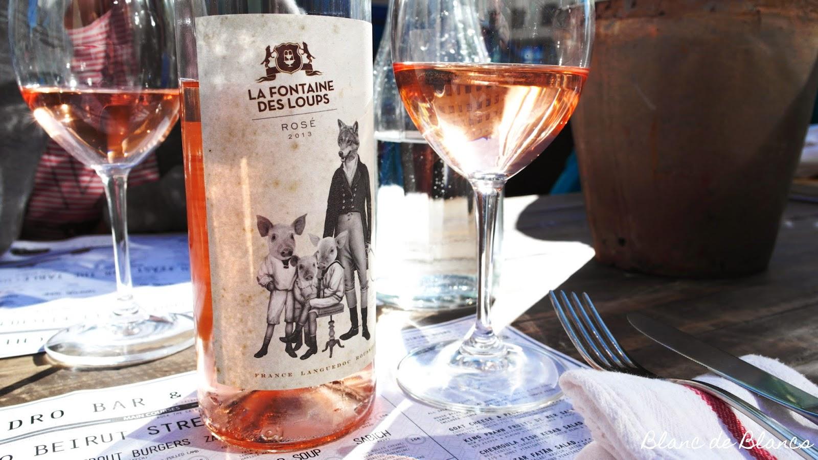 La Fontaine des Loups Rosé 2013 - www.blancdeblancs.fi