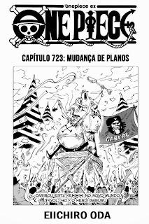 One Piece 723  Português  Mangá  Leitura Online