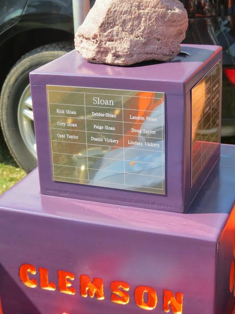 Clemson Tiger Tailgate Howard's Rock