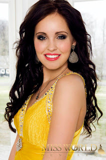 Miss World Denmark 2012 Monica Isabella Hartig