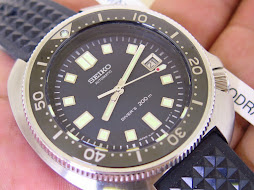 SEIKO DIVER 200m RE-CREATION SEIKO DIVER 6105 - SEIKO SLA033J1 LIMITED 2500 PCS - AUTOMATIC 8L35