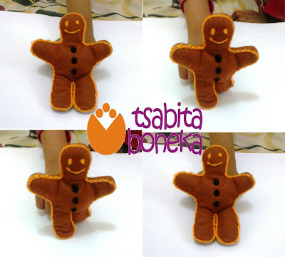 "Tutorial: Boneka Jari ""The GingerBread Man"""