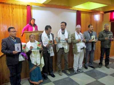 Indra Bahadur Rai's book Sampurak released in Kalimpong