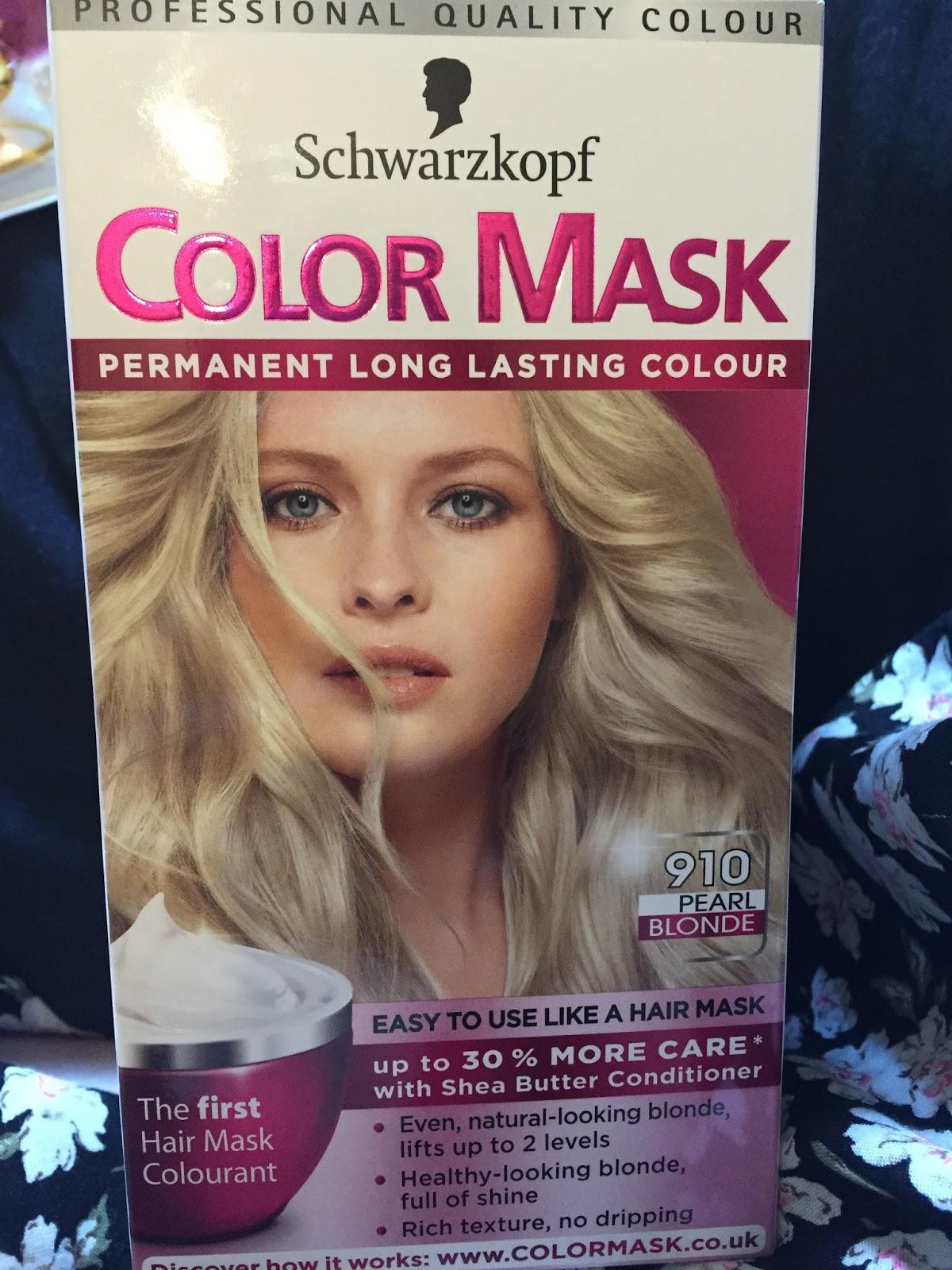 Schwarzkopf Color Mask In 910 Pearl Blonde Blondee P