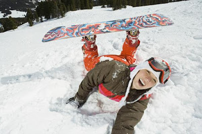 Snowboard for beginner : Step 2 Footing