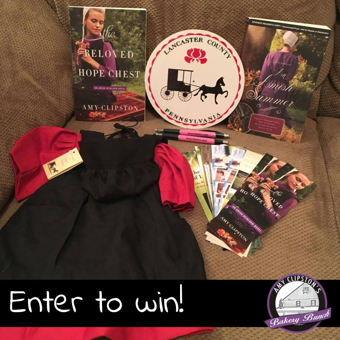Amy Clipston GIVEAWAY ends May 31