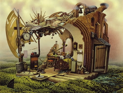 01-Jacek-Yerka-Surreal-Dream-Paintings-www-designstack-co