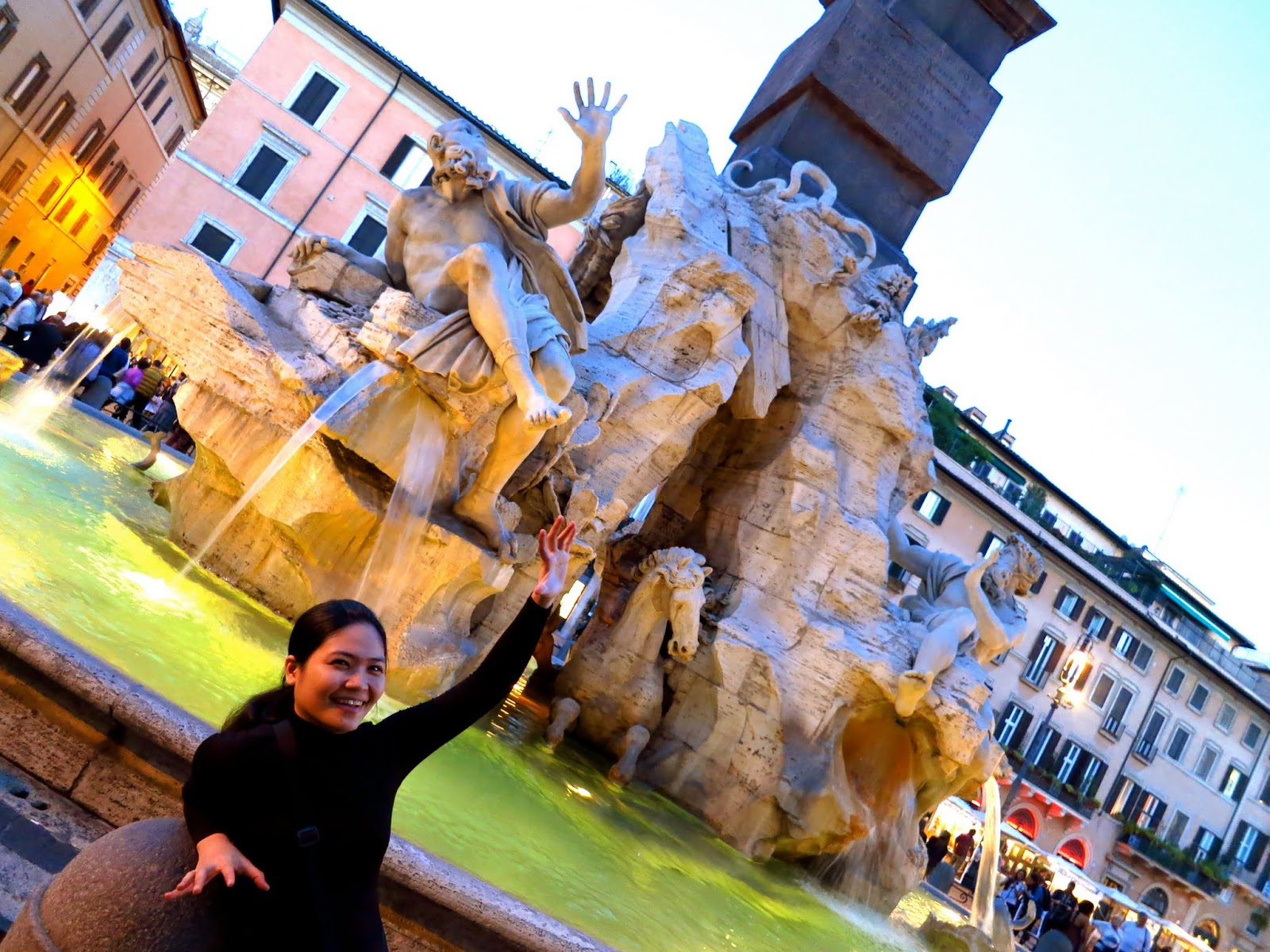 Fountain in Piazza, Navona