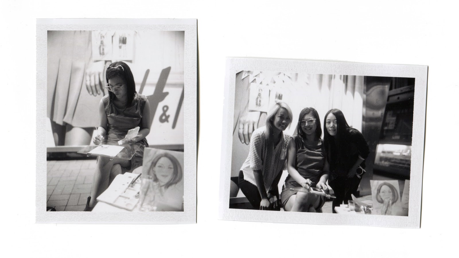 Kitty N. Wong / Live Draw Tsim Sha Tsui Polaroids